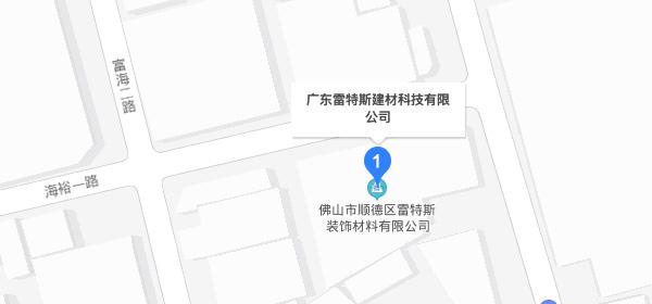 雷特斯百度地图