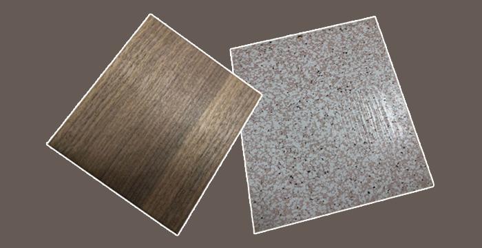 仿木纹或石纹铝单板的优异特性