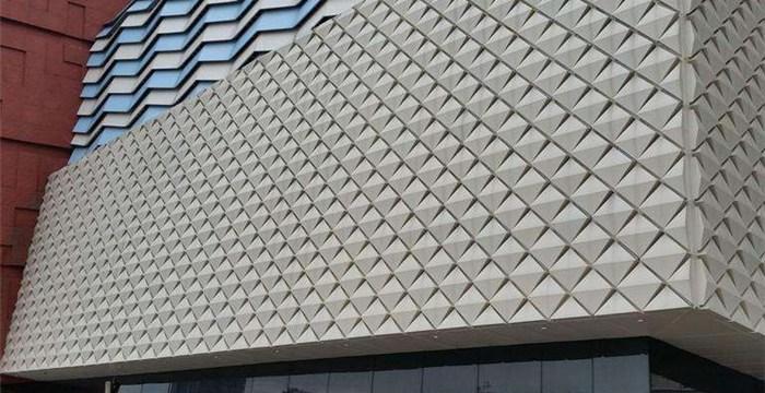 室内密拼铝单板令建筑更为艺术