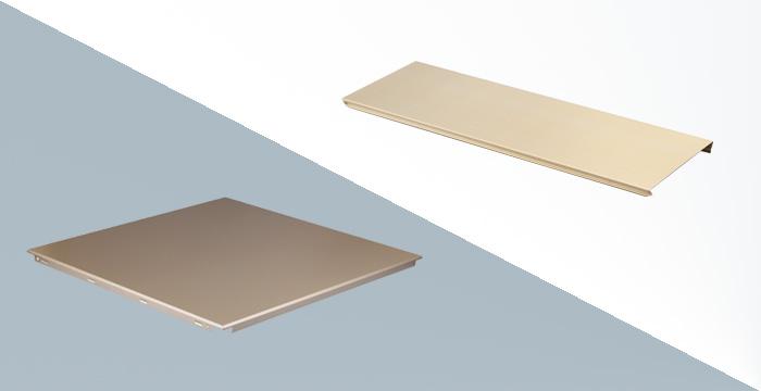 铝方板和铝条扣的区别