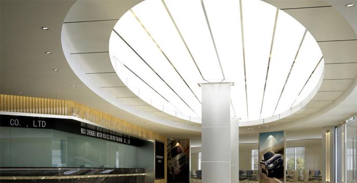 铝天花板的用途