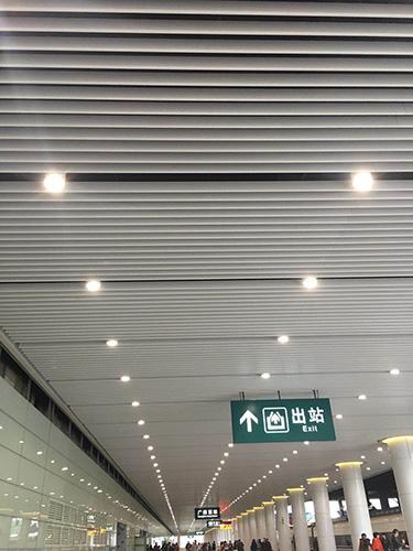 广州东站实际效果