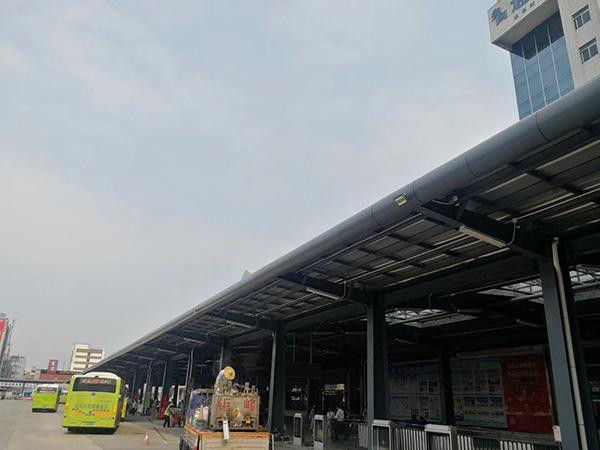 中山汽车总站实际效果